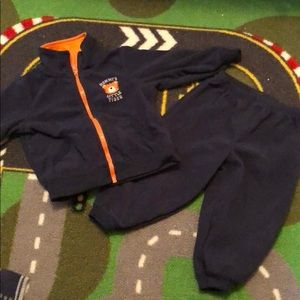 Mommy's little tiger 12 month navy blue outfit